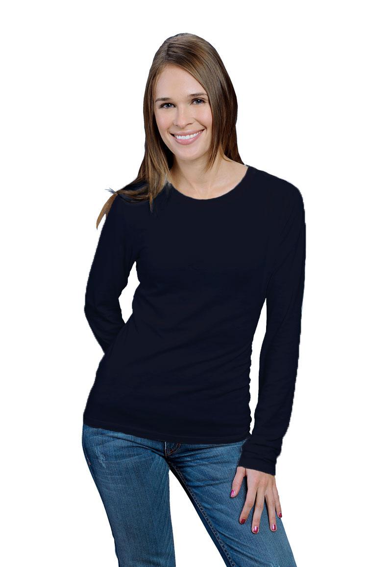 80b160606 ONNO long sleeve bamboo t-shirts women | ONNO T-Shirt Company